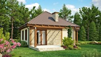 Проект уютного гостевого домика