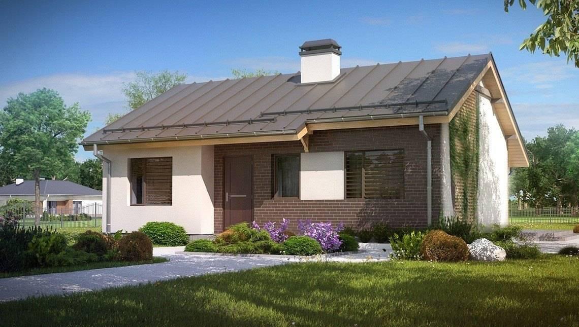 Проект недорогого дачного дома