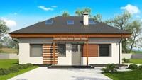 Классический проект загородного дома 10 на 12