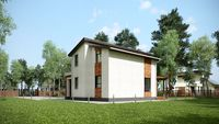 Проект двухэтажного особняка с комфортными личными помещениями