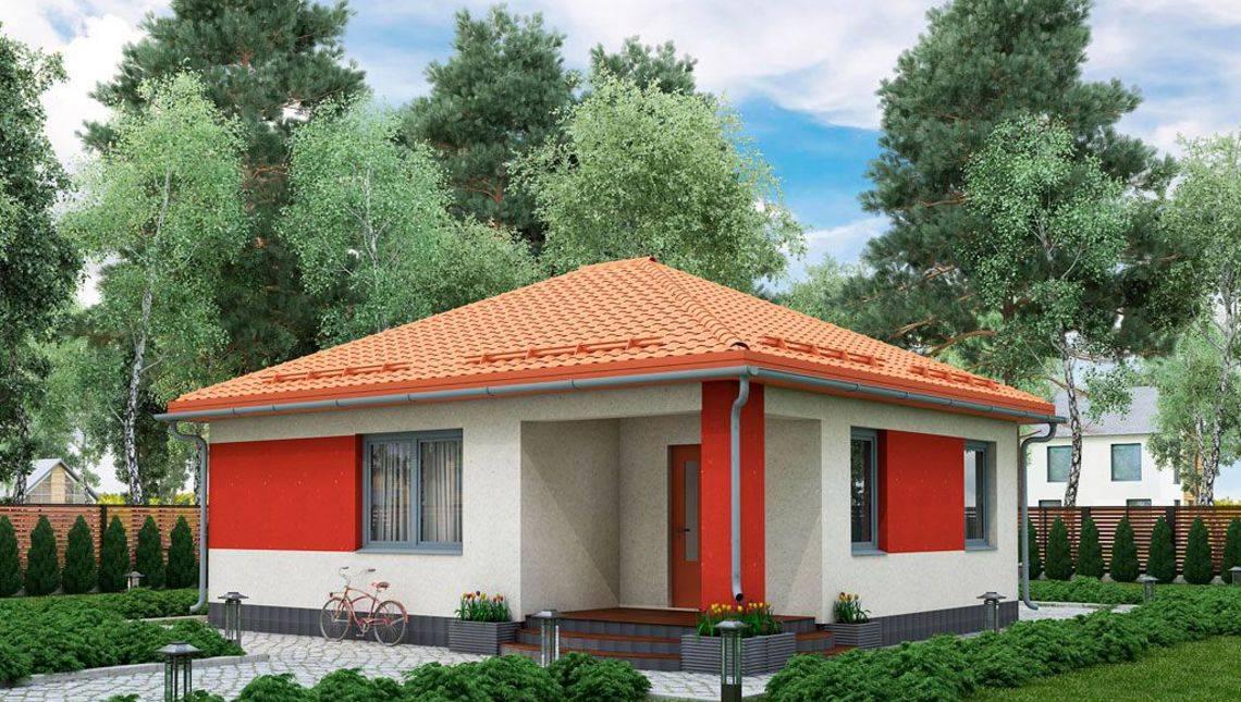 Проект небольшого загородного симпатичного дома