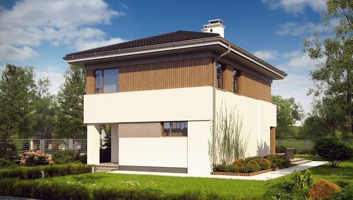 Компактный загородный дом с 3мя спальнями
