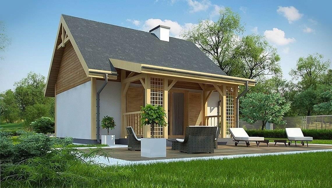 Проект летнего домика 35 m²