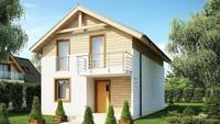 Проект небольшого загородного дома