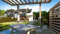Проект коттеджа с элементами кубизма в архитектуре