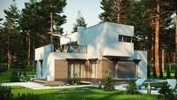 Модерновый проект с площадью до 150 m²