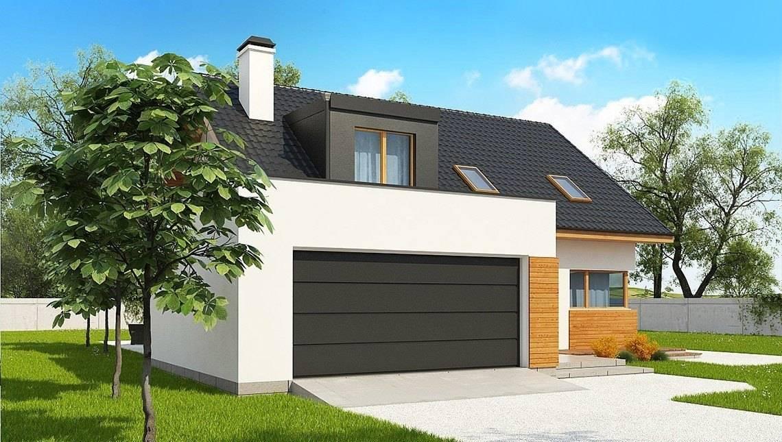 Проект двухэтажного коттеджа площадью более 200 m²