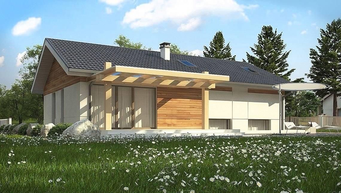 Дом в классическом стиле со вторым светом в кухне-студии