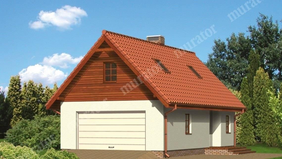 Современный гараж с автомастерской и жилым помещением