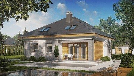 Проект дома с дополнительными спальнями на первом этаже