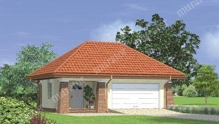 Привлекательный гараж на 2 машины