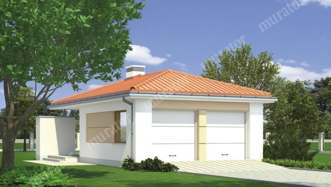 Просторный гараж в стиле минимализма
