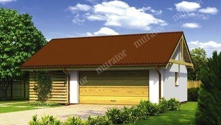 Проект жизнерадостного гаража на 1 машину