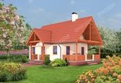 Компактный небольшой дом