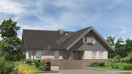 Красивый дом с просторным гаражом