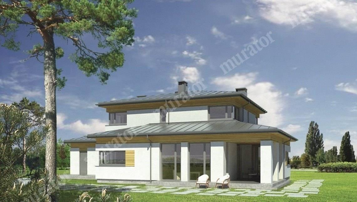 Проект современного дома на 6 спален