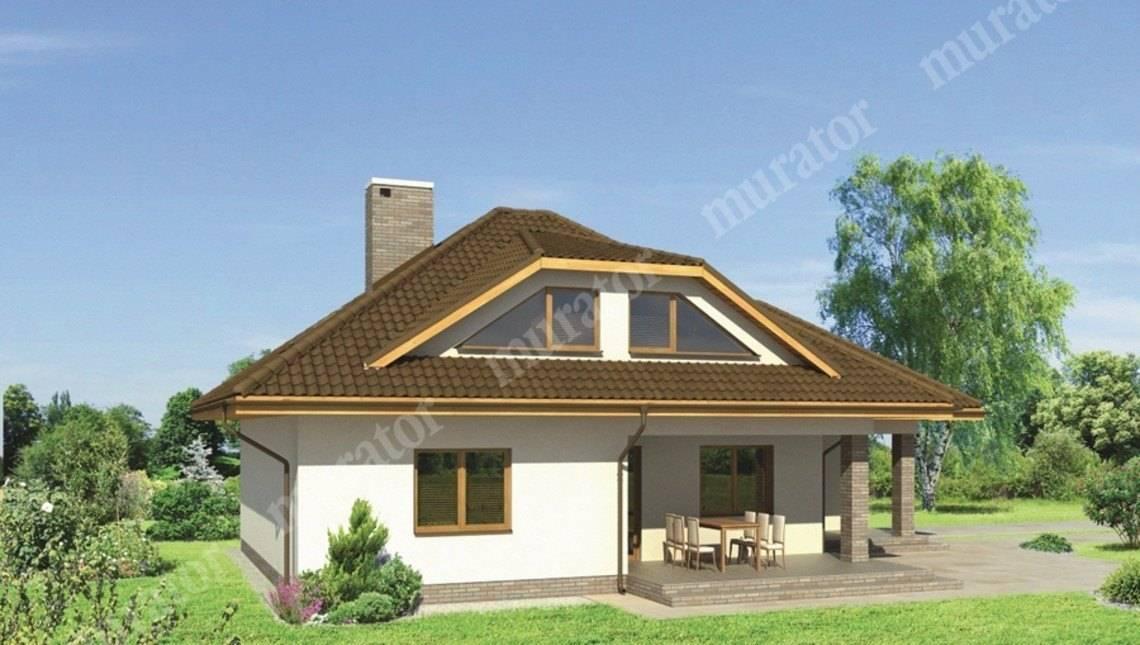 Красивый дом с 2 террасами