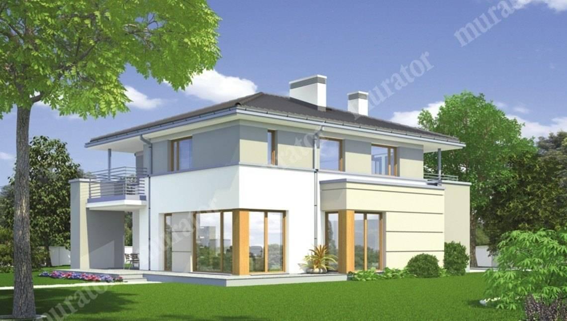 Стильный двухэтажный особняк