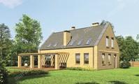 Кирпичный дом интересной планировки