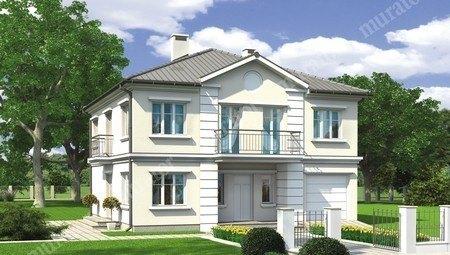 Современный двухэтажный особняк