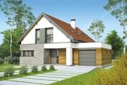 Двухэтажный дом на 130 м2