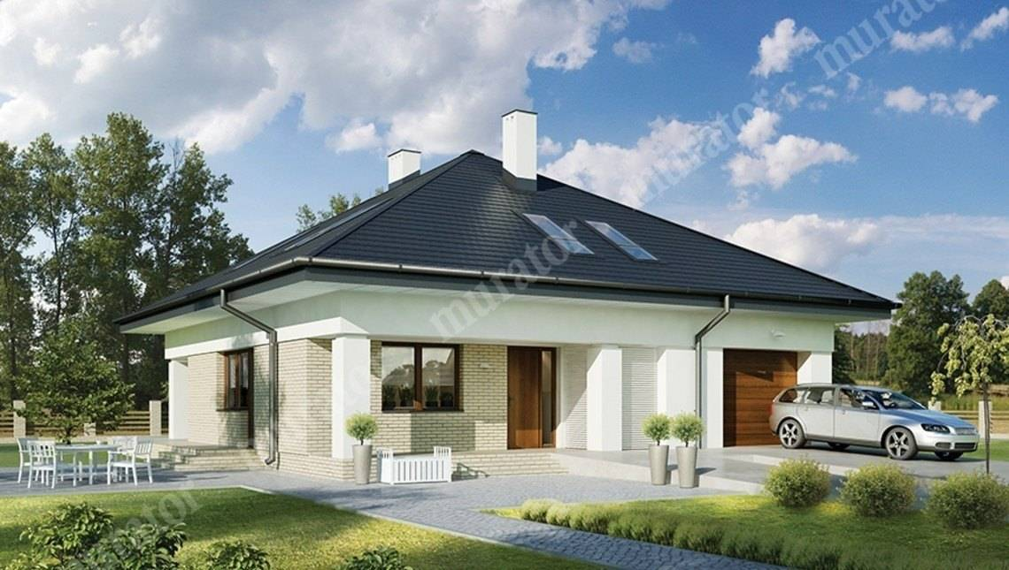 Двухэтажный представительный жилой дом