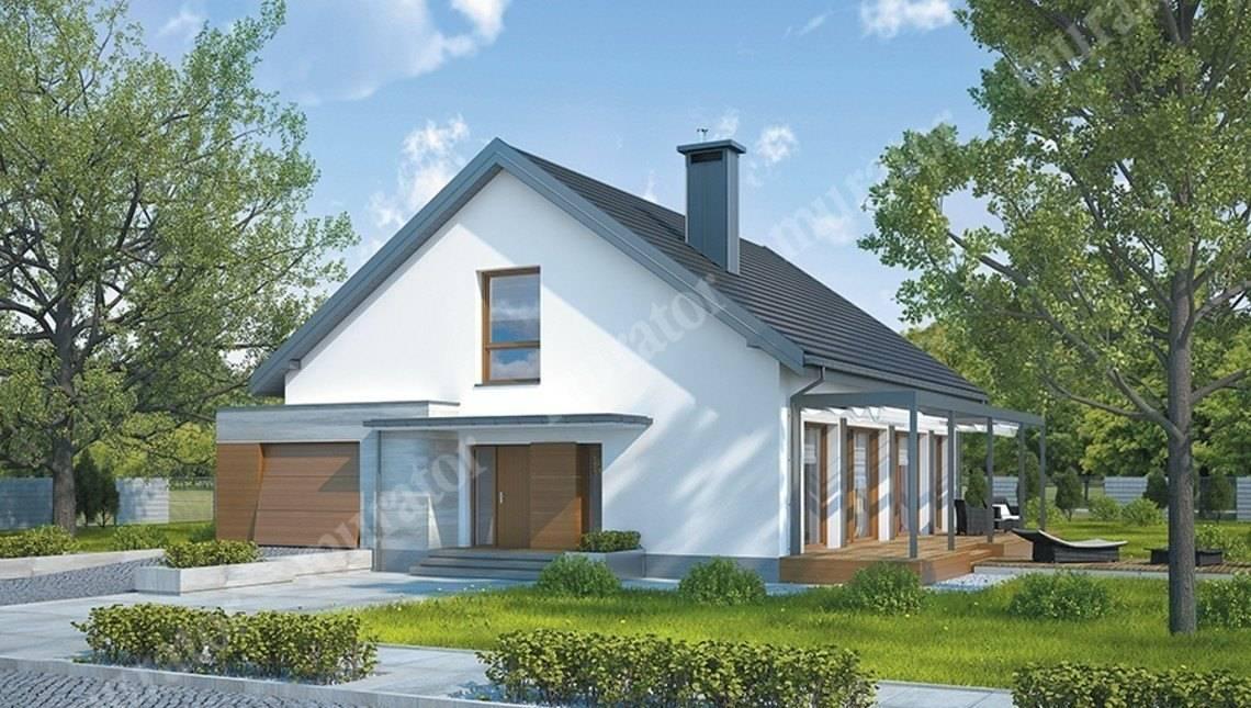 Проект одноэтажного дома на 3 спальни