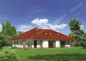 Привлекательный дом с мансардой