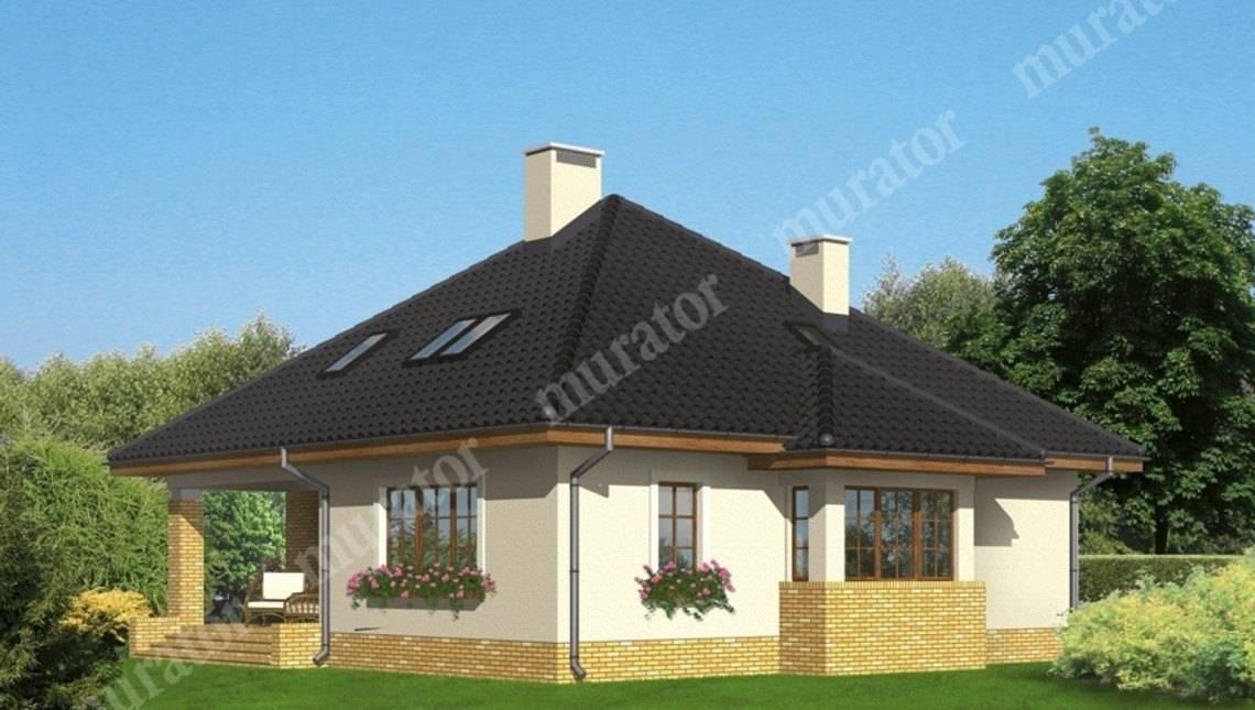 Привлекательный жилой дом с кирпичным орнаментом