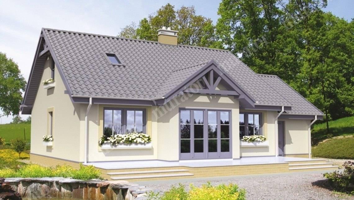 Проект жилого дома с двумя гостиными и гаражом