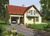 Праздничный жилой дом интересной планировки
