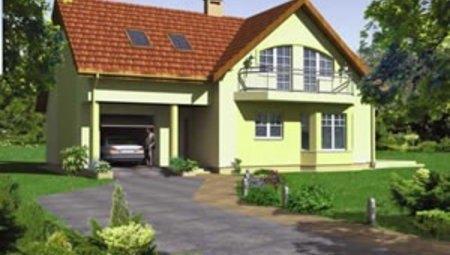 Проект роскошного жилого дома с гаражом