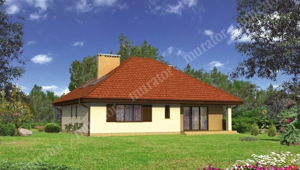 Красивый дом с мансардой и большим гаражом