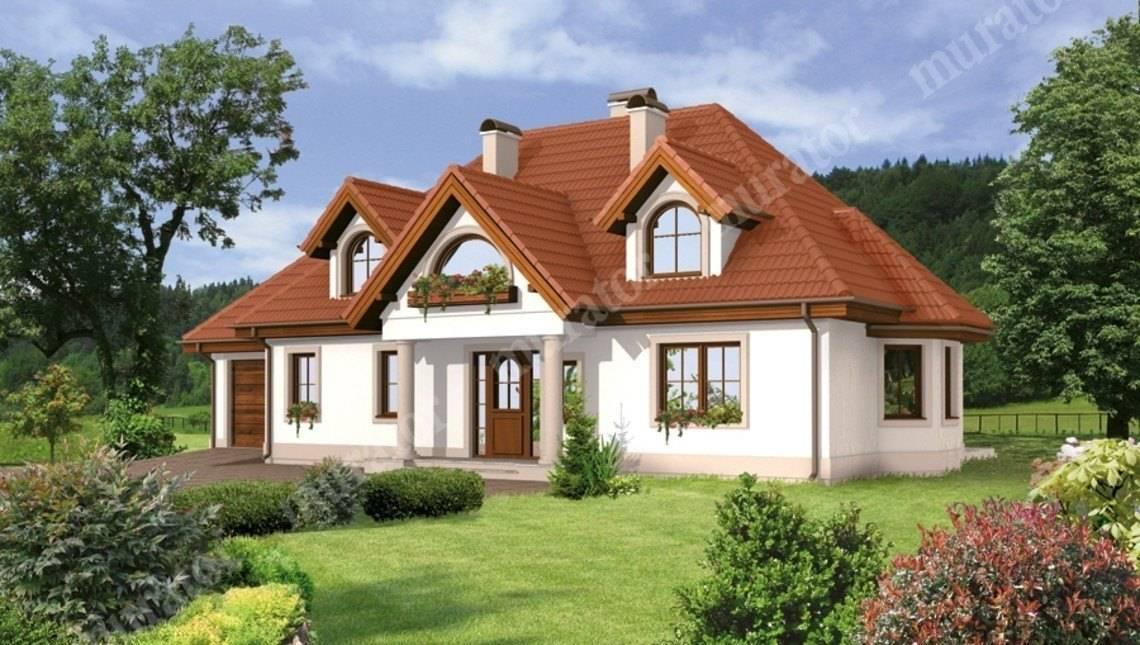 Великолепный двухэтажный жилой дом