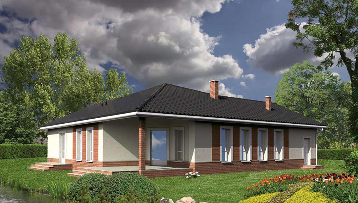 Жилой дом Г - образной формы