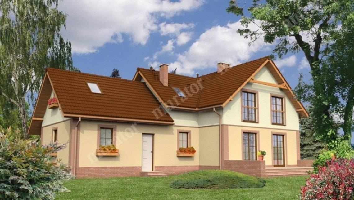 Проект жилого дома привлекательного вида