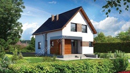 Симпатичный жилой двухэтажный дом