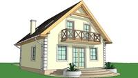 Приятный дачный домик