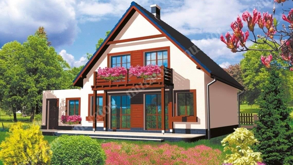 Яркий жилой дом на 5 спален