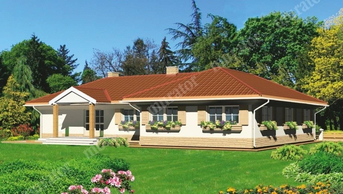 Проект жилого дома Т - образной формы