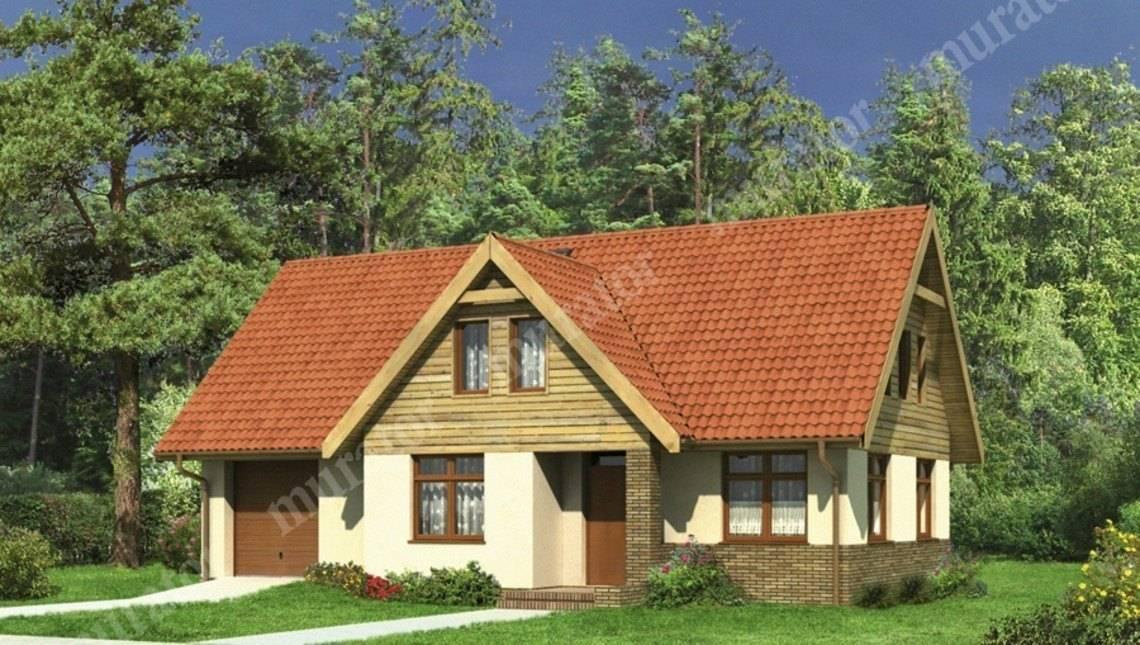 Двухэтажный привлекательный дом