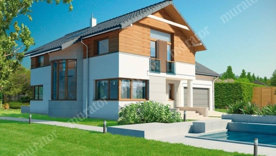 Изящный дом с просторным гаражом