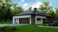 План-схема строительства одноэтажного дома общей площадью 175 кв.м.