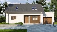 Проект классического мансардного дома площадью 206 кв.м.