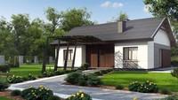 Планировки и схема строительства одноэтажного  дома площадью 99 кв.м.