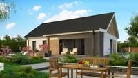 Планировки и визуализации частного жилого дома общей площадью 126 кв.м