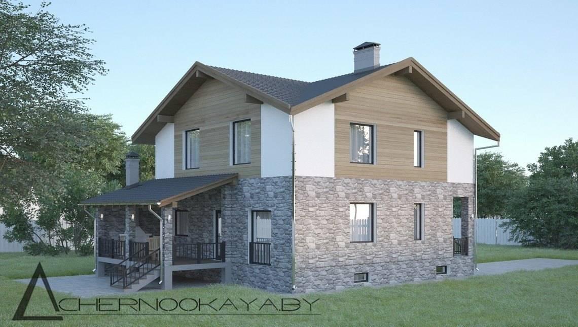 Проект эксклюзивного особняка с цокольным этажом общей площадью 260 кв. м