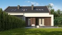Проект дома площадью 228 кв. м в современном стиле