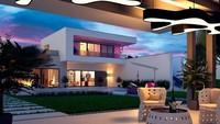 Проект вместительного дома на 224 кв. м с завораживающим экстерьером