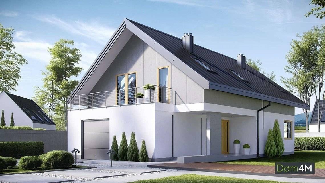 Двухэтажный жилой дом с личными комнатами повышенной комфортности